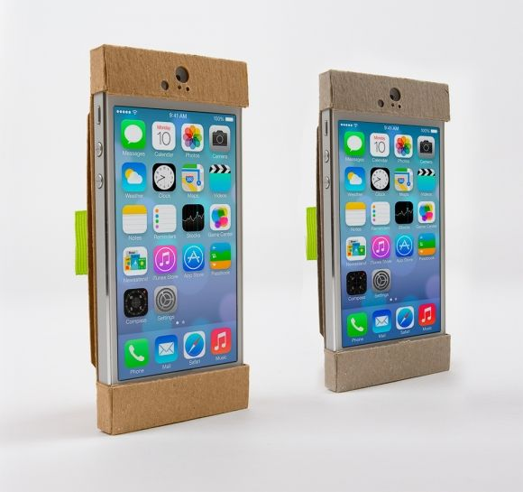 Chipster, Recycled Chipboard iPhone Case