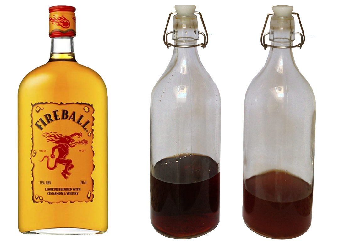 Sunday Funday How To Make Fireball Whiskey At Home Fireball Whiskey Whiskey Homemade Drinks