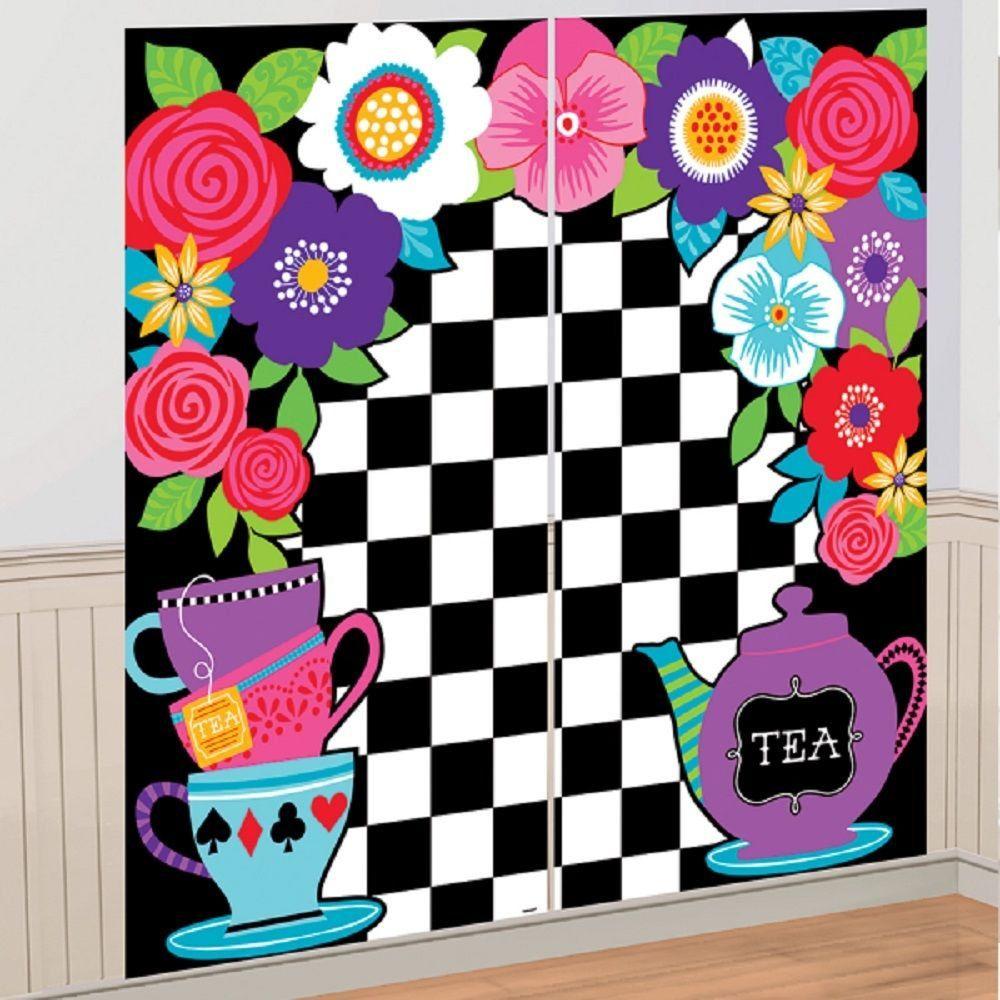 Alice in Wonderland Theme Baby Shower Birthday Party or Bridal
