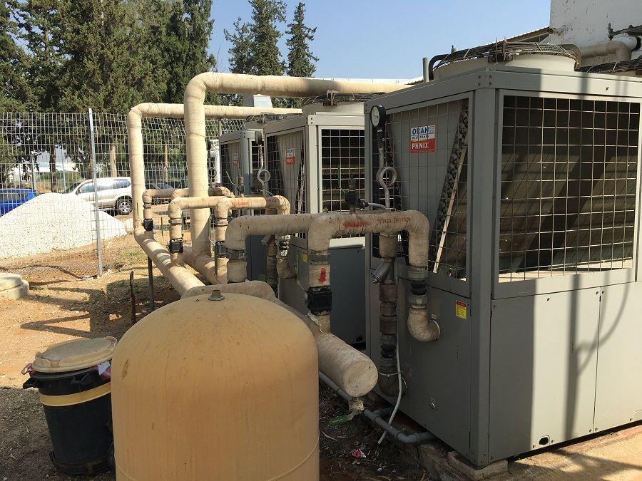 Sample project of HeatPower Series air source heat pump