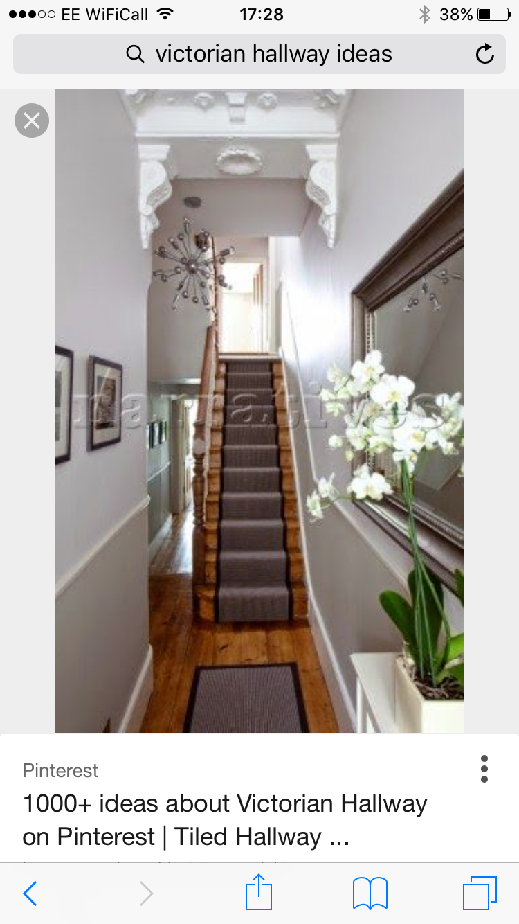 My Victorian Terrace Refurb: Hallway Decorating Ideas