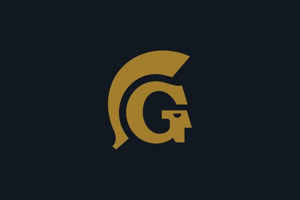 Letter G Logo Guard Logo Sparta Logo G Logo Design Security Logo