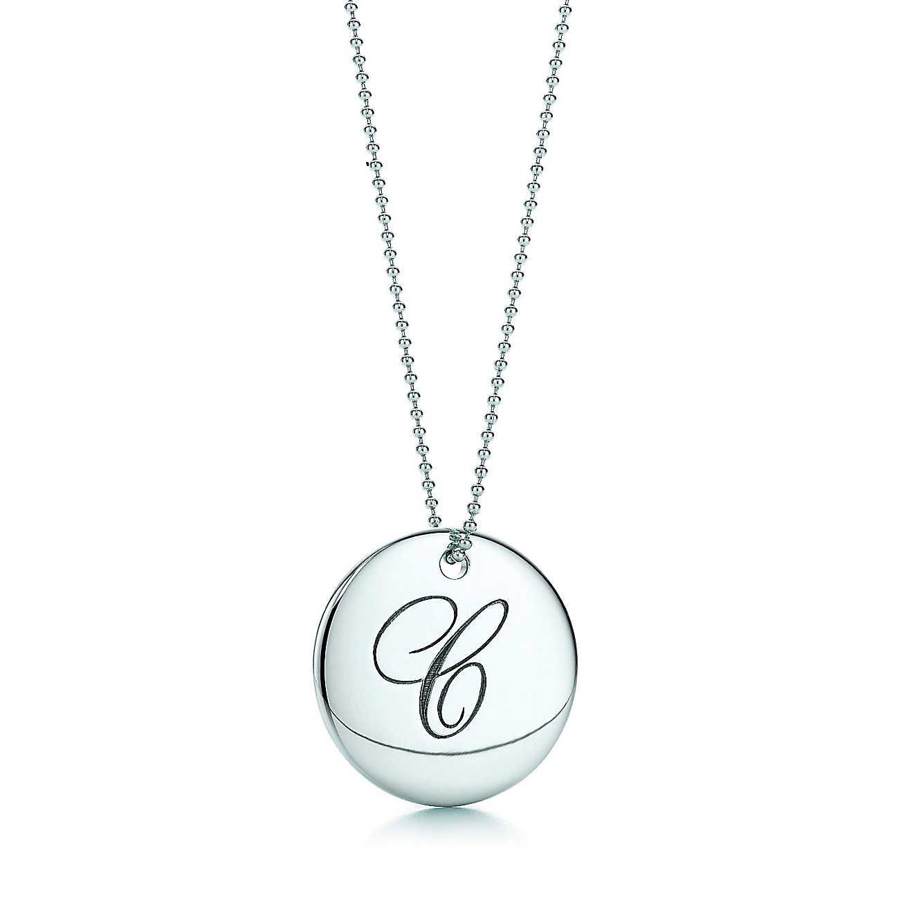 Tiffany notesletter f round pendant round pendant tiffany and tiffany notesletter c round pendant aloadofball Gallery