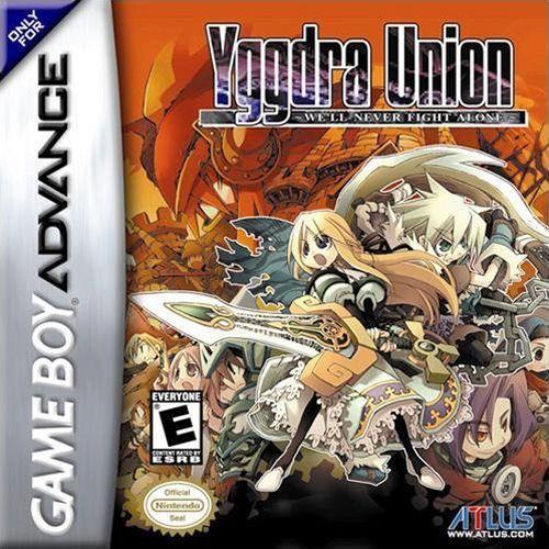Yggdra Union We Ll Never Fight Alone U Rising Sun Rom For Gba Nintendo Game Boy Advance Gameboy Gameboy Advance