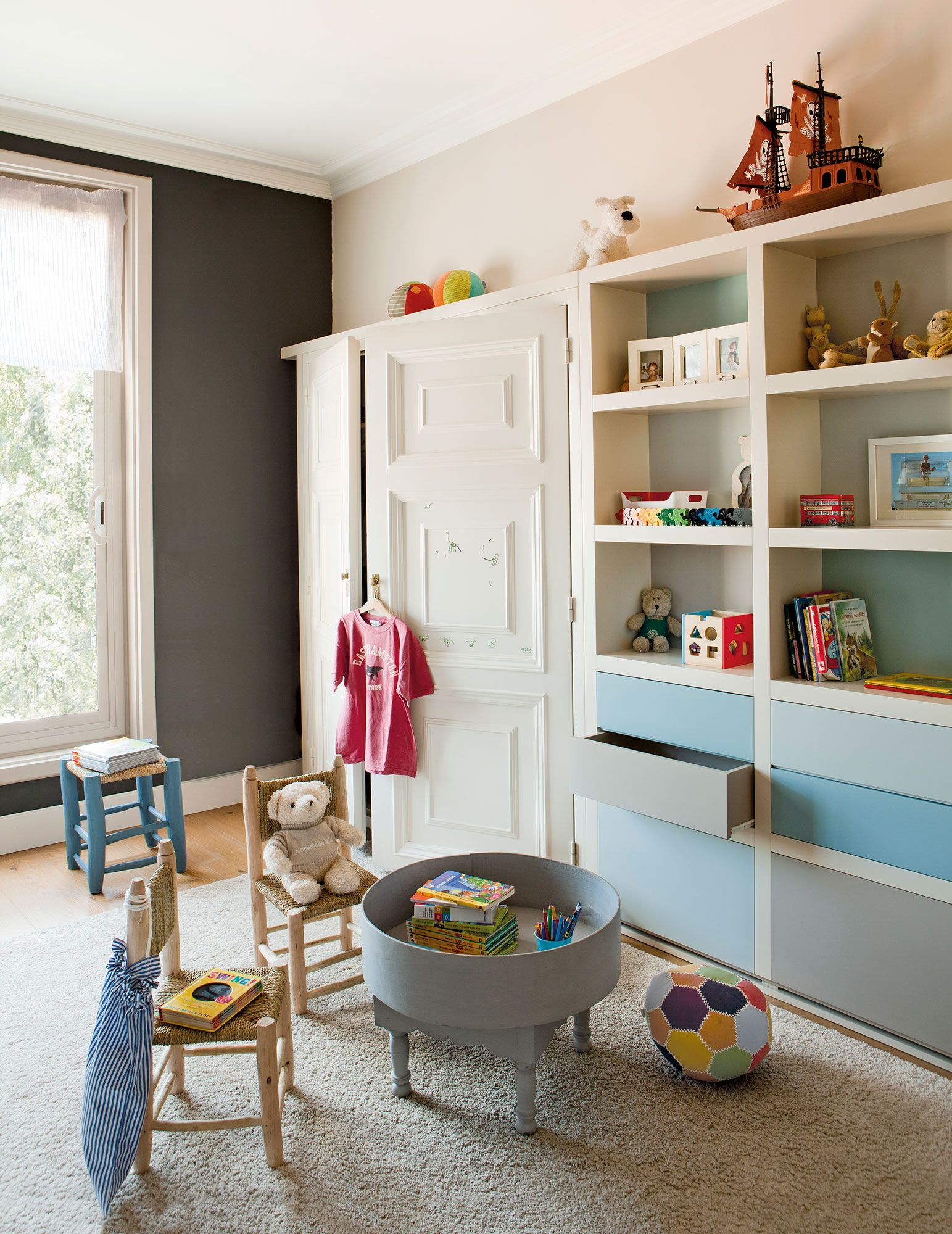 Todo en uno con cajones y estantes en 2019 habitaciones - Dormitorios infantiles granada ...