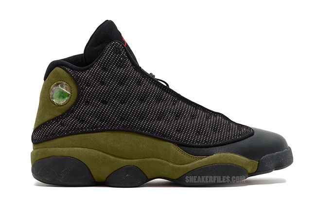 separation shoes 5cb16 ffea7 Air Jordan 13 Olive 414571-006 Release Date. The Air Jordan 13 Olive  releasing during January 2018 in Black, Gym Red, Light Olive, White for   190.