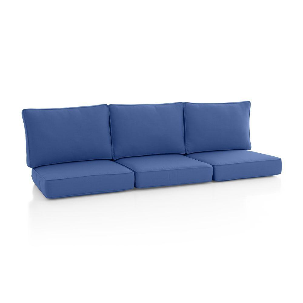 Calistoga Sunbrella ® Sofa Cushion - Crate and Barrel
