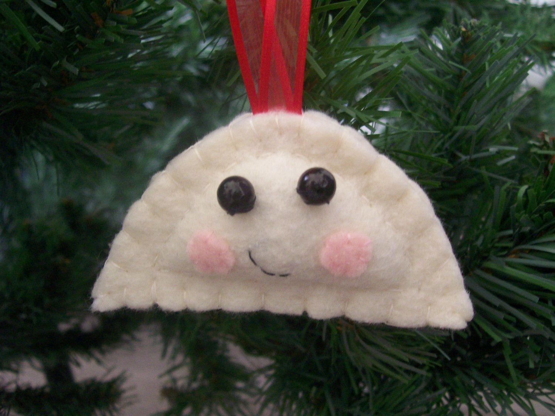 Felt Pierogi Christmas Ornament By Lovepls On Etsy, $600