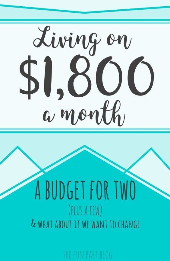 Our Real Budget Living on Just $1800 Monthly misc Pinterest - simple budget