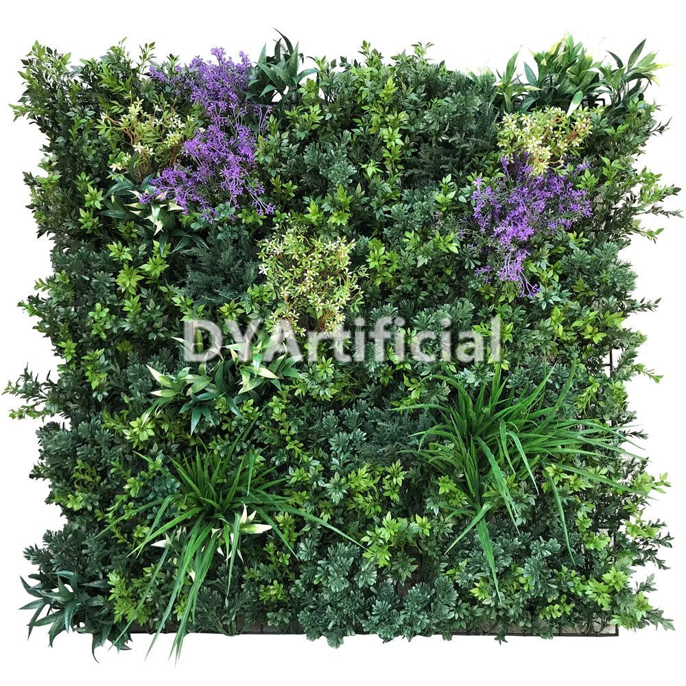 Xcm uv and fire protection artificial vertical plants wall