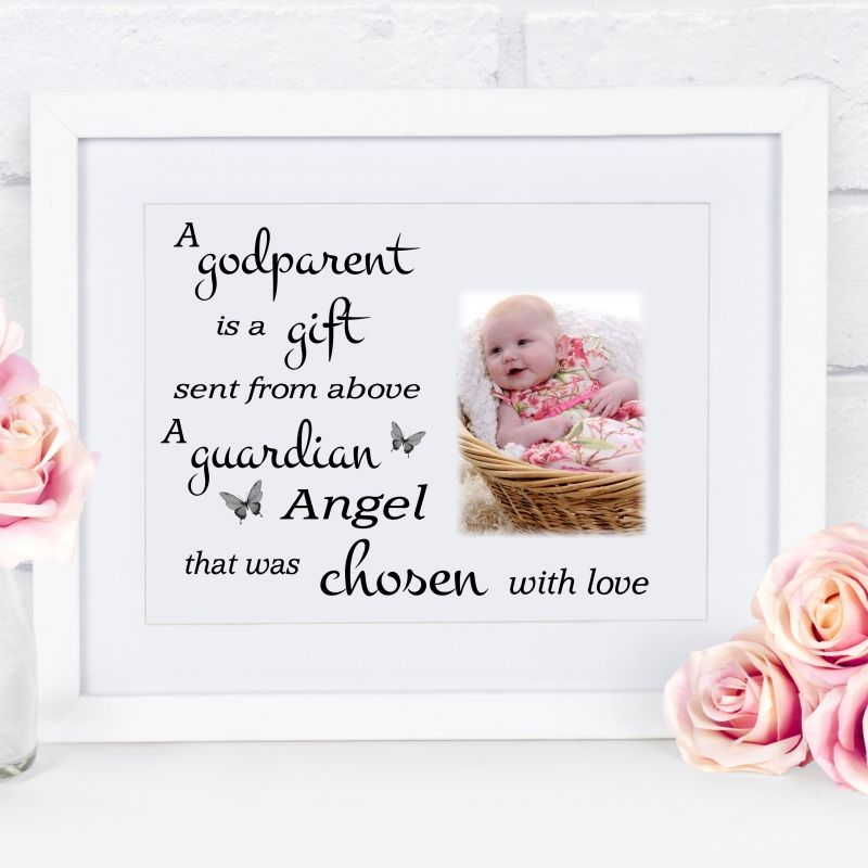 A godparent is frame block or plaque godparent gifts