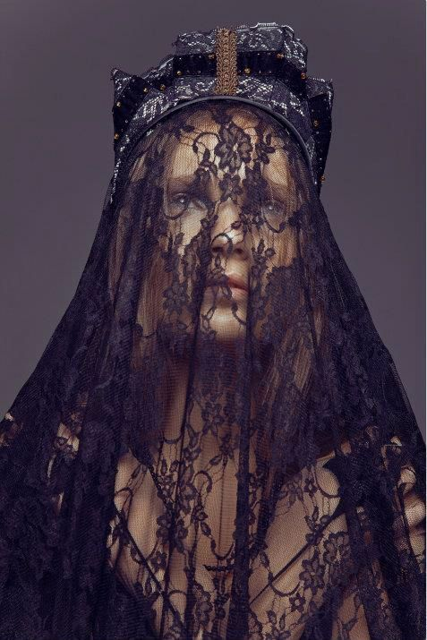☫ A Veiled Tale ☫ wedding, artistic and couture veil inspiration - involcro