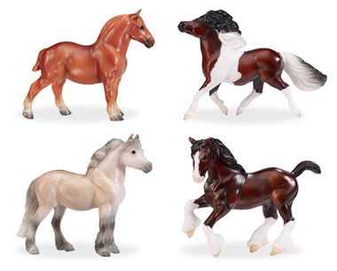 Pony and Draught Set