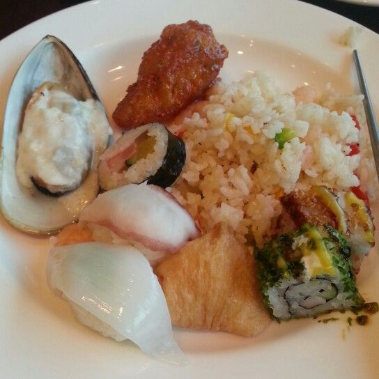 Another buffet at Hyunday Hotel