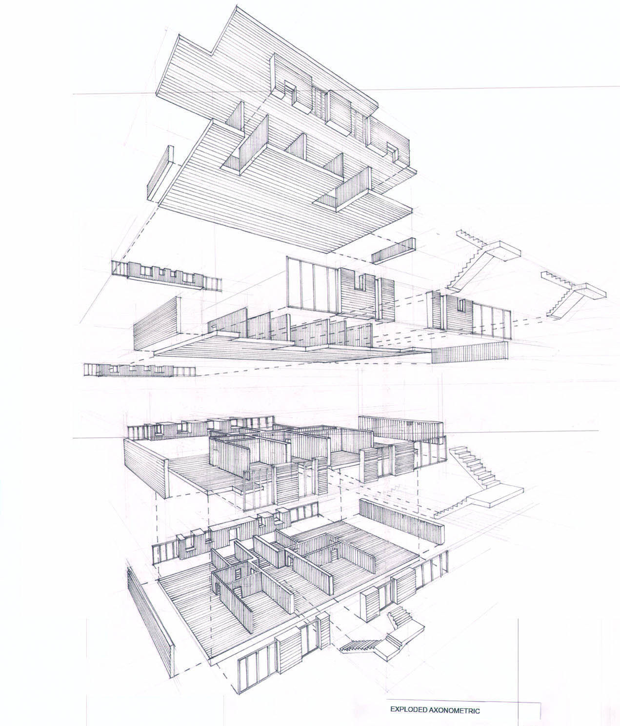 Exploded Axonometric Drawings Can Be Useful And Very Informative But Are Not As Clear To