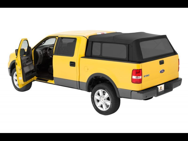 04 13 Ford F150 Regular Super Cab 6 5 Bed Bestop Black Supertop 76305 35 Ebay Truck Bed Camper Truck Bed Covers Truck Accessories