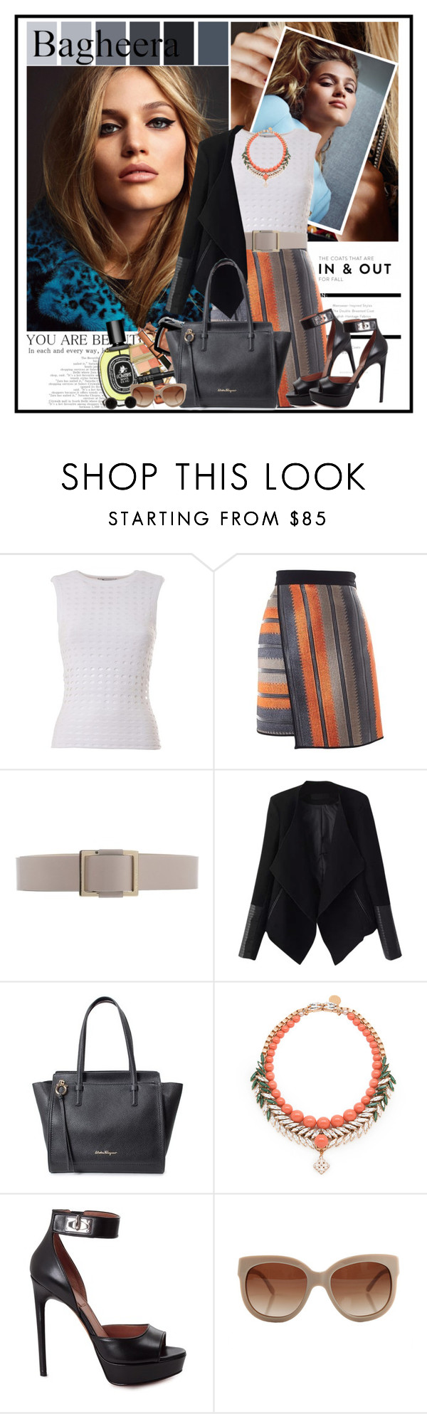 """""""...."""" by cindy88 ❤ liked on Polyvore featuring T By Alexander Wang, MSGM, BOSS Black, Relaxfeel, Salvatore Ferragamo, Ellen Conde, Givenchy, STELLA McCARTNEY and bagheeraboutique"""