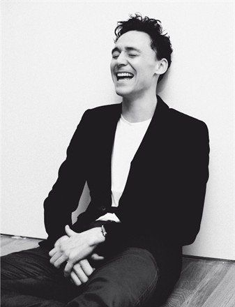 Tom Hiddleston has such a great smile! | Smile!! | Tom