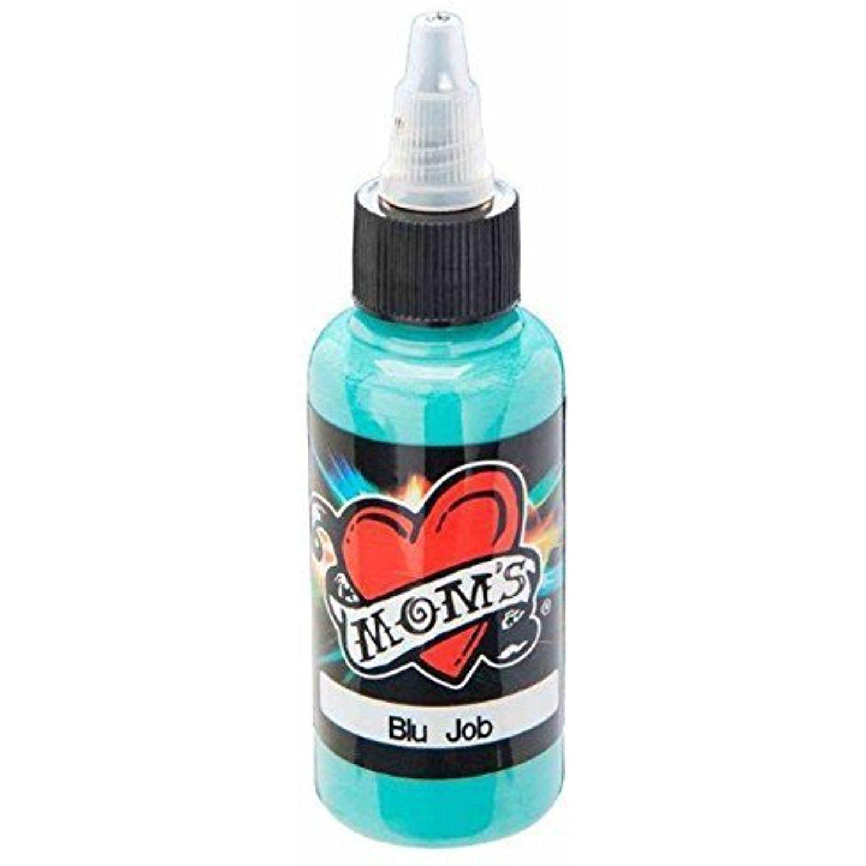 Blu job millennium moms 1oz tattoo ink 1 oz moms blue by