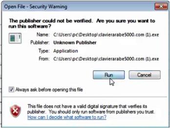 تحميل لوحة المفاتيح العربية 2019 Clavier Arabe للكمبيوتر Digital Signature Digital Names
