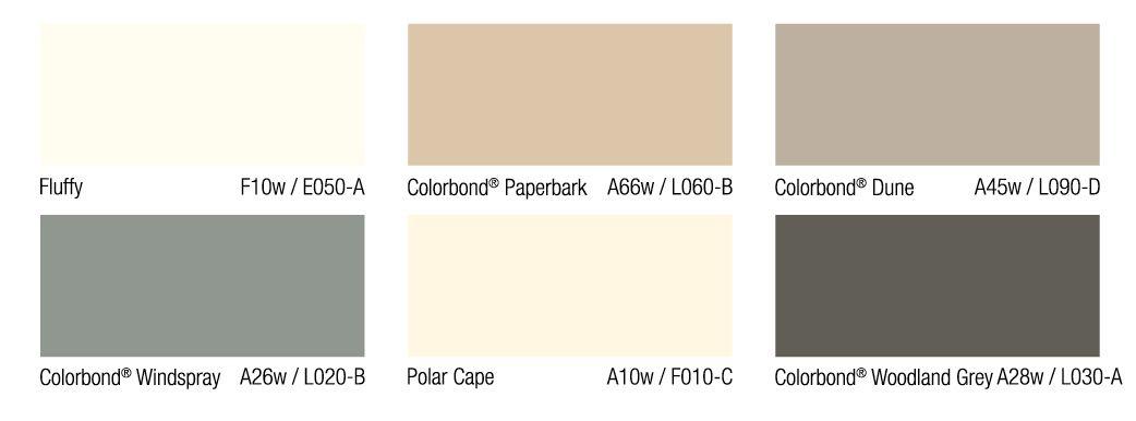Colour Scheme For A California Bungalow California