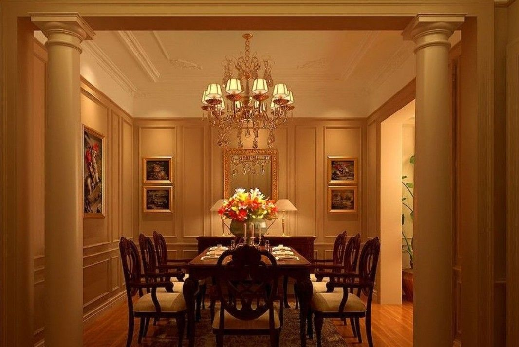 Boilerplate of neoclassical dining room for Neoclassical dining room design