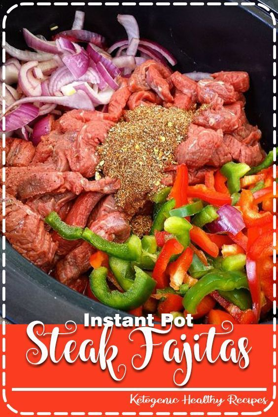 THE BEST Instant Pot Steak Fajitas Recipes (Low-Carb, Paleo, Whole30) #steakfajitarecipe There are only 5-Ingredients in this slow cooker steak fajitas recipe. #slowcooker #steak #fajitas #healthy #recipe #recipes #steakfajitarecipe THE BEST Instant Pot Steak Fajitas Recipes (Low-Carb, Paleo, Whole30) #steakfajitarecipe There are only 5-Ingredients in this slow cooker steak fajitas recipe. #slowcooker #steak #fajitas #healthy #recipe #recipes #beeffajitarecipe