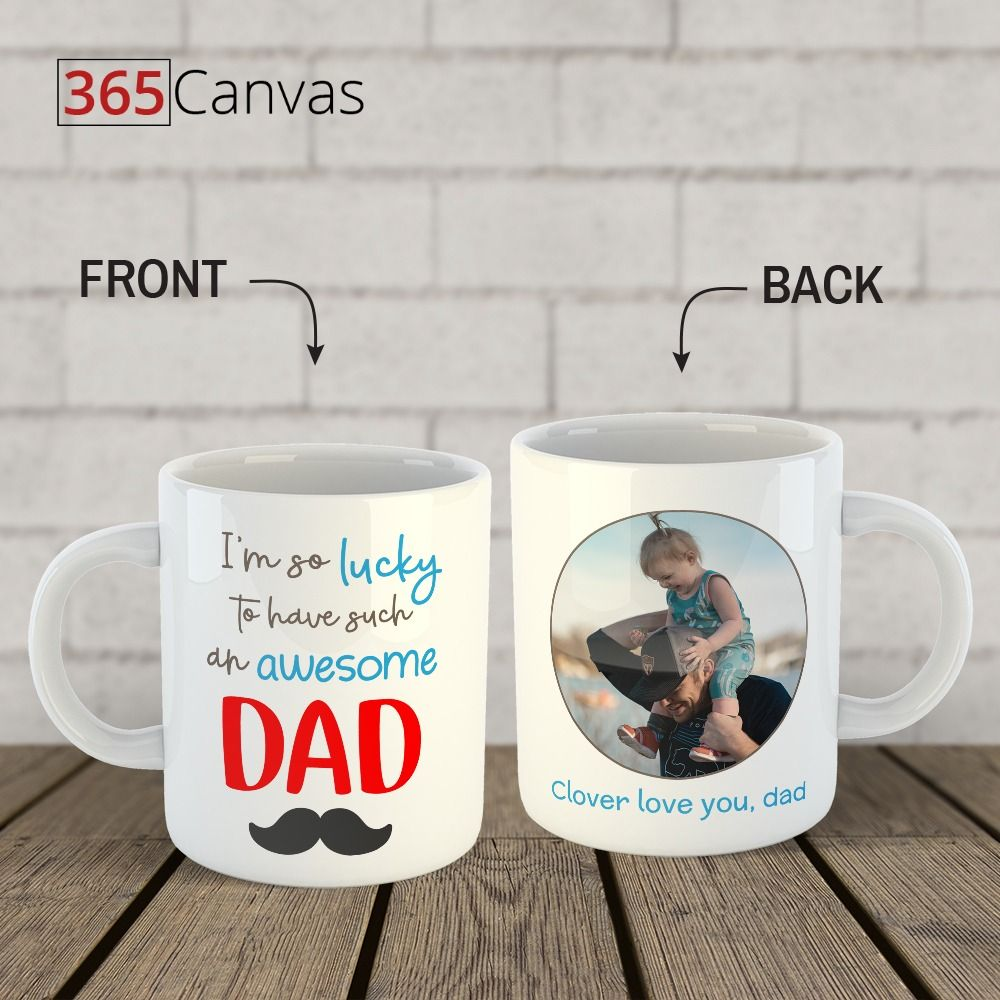 Details about  /Awesome Daddy Mug Gift New Daddy Present Mens Gift Dad Birthday Gift Mug
