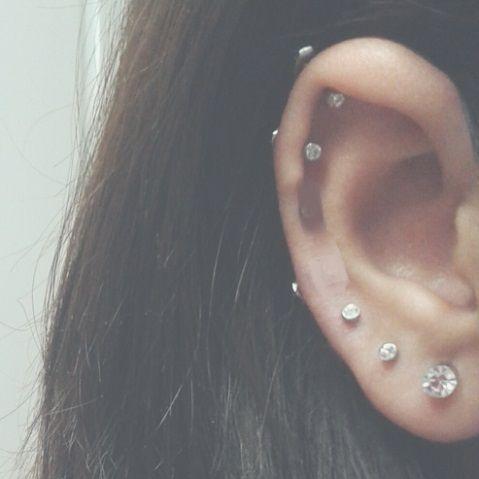 ear peircings ear peircings #earpeircings