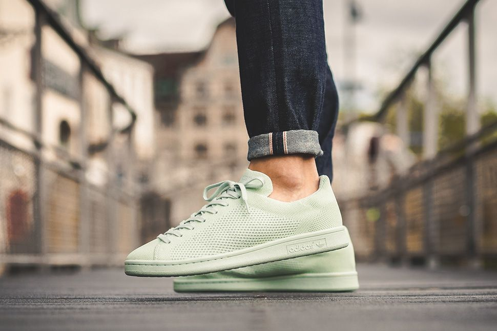A Minimalist, Primeknit Infused Take on the adidas Stan