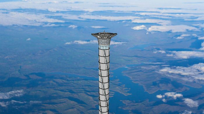 Inflatable space elevator tower has potential - Still decades away from being feasible #spaceelevator