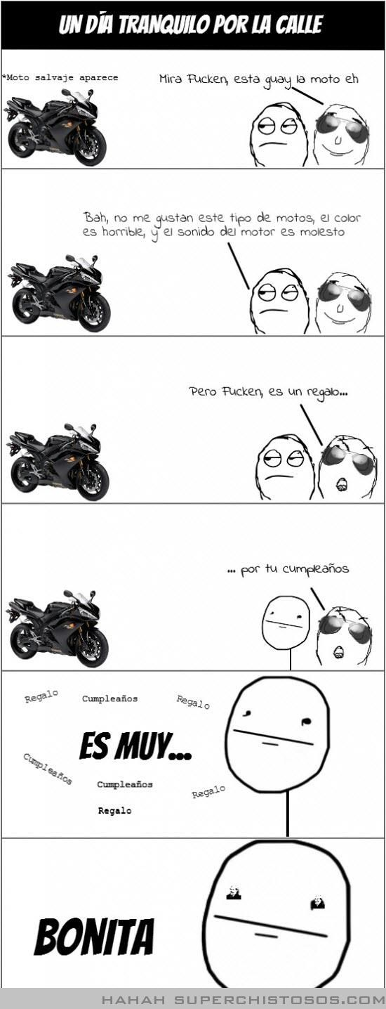 ¿Te gusta la moto-