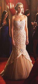 Caroline at prom! This dress is beautiful!! | The Vampire Diaries ...
