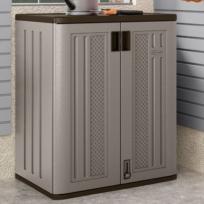 Fresh Suncast Storage Cabinets with Doors