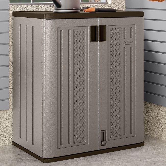 Fresh Suncast Storage Cabinets with Doors