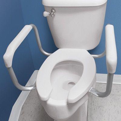 Safety Toilet Rail Support Toilet Handicap Bathroom Bathroom Plans