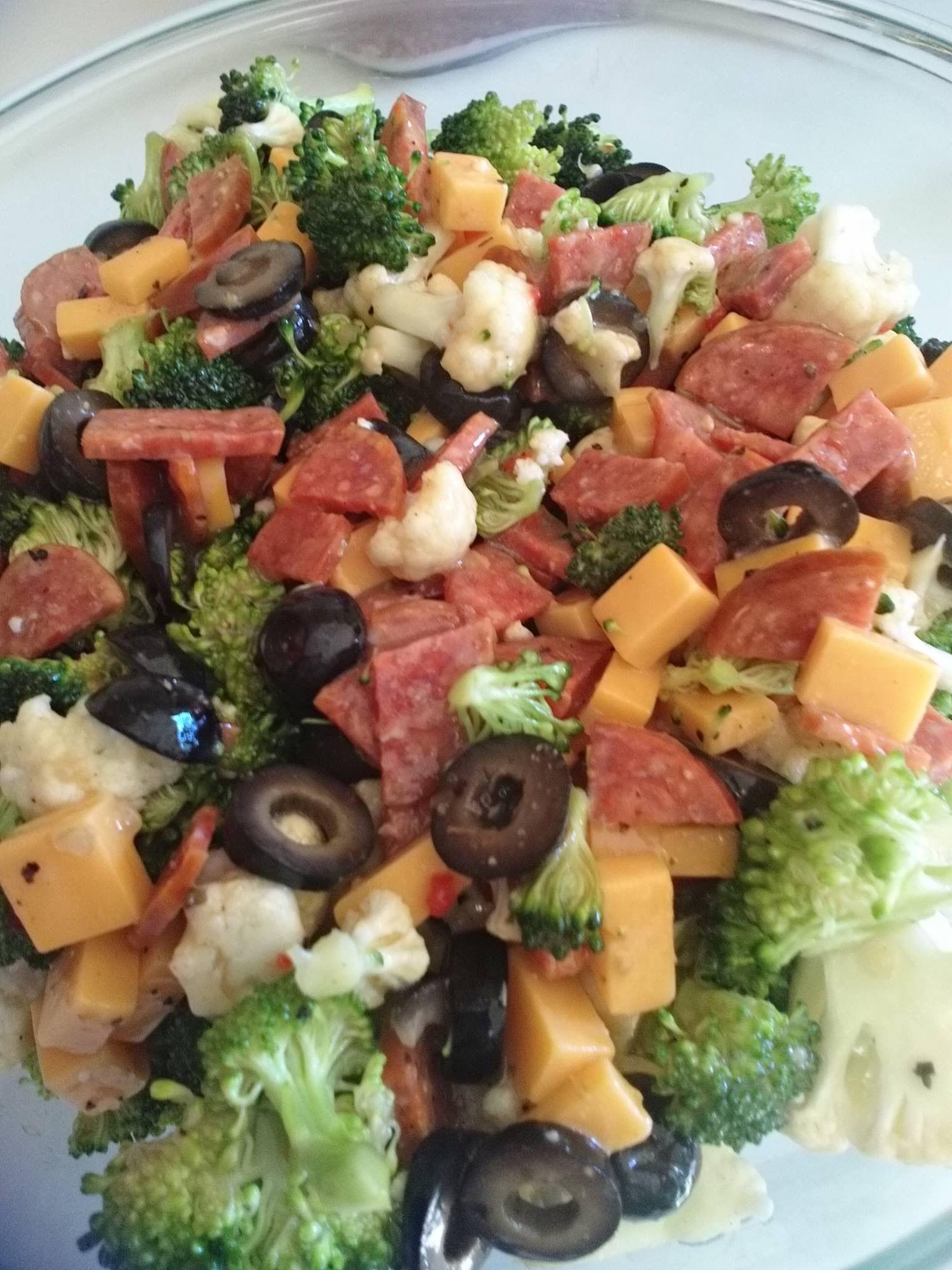 Keto Antipasto Salad Antipasto Salad Recipe Low Carb Salad