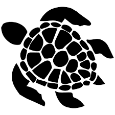 43++ Sea turtle clipart black and white ideas