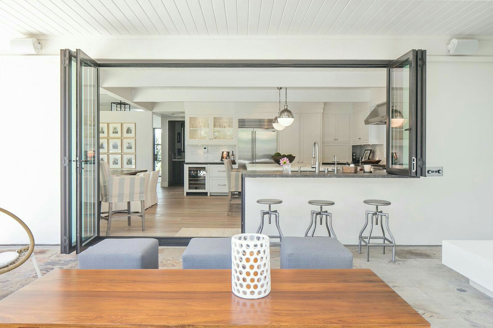 Kitchen servery window ideas  bifold window w door at kitchen  jozi home  pinterest  window