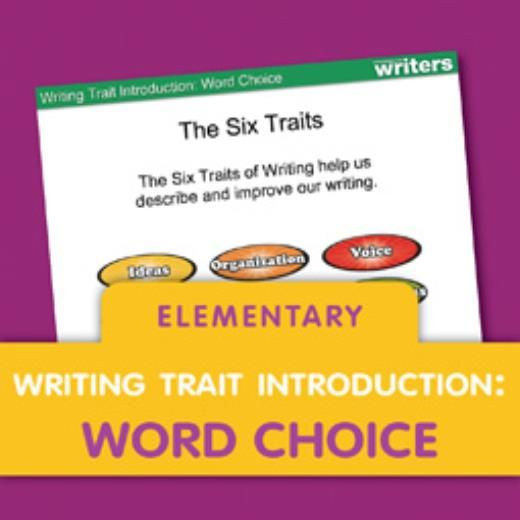 Download this customizable mini lesson on Word Choice to share – Word Choice Worksheets