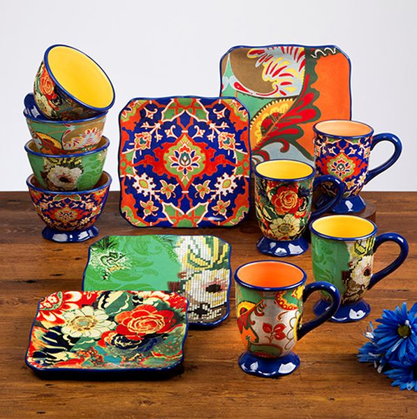 Rivage Dinnerware-place settings for 8 - Indeed Decor  sc 1 st  Pinterest & RIVAGE from our new poetic muse collection of assorted cofee mugs ...
