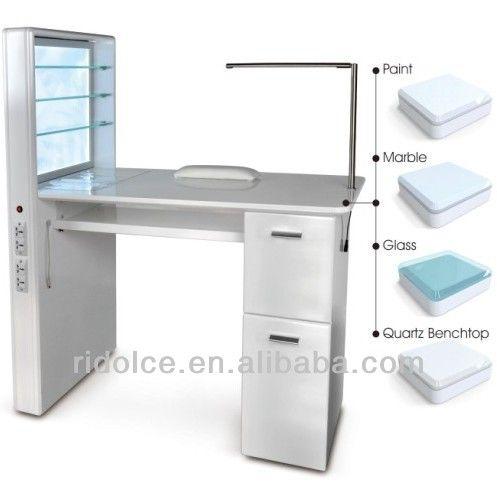 Nail Table Used Salon Furniture Technician Tables F Ed03