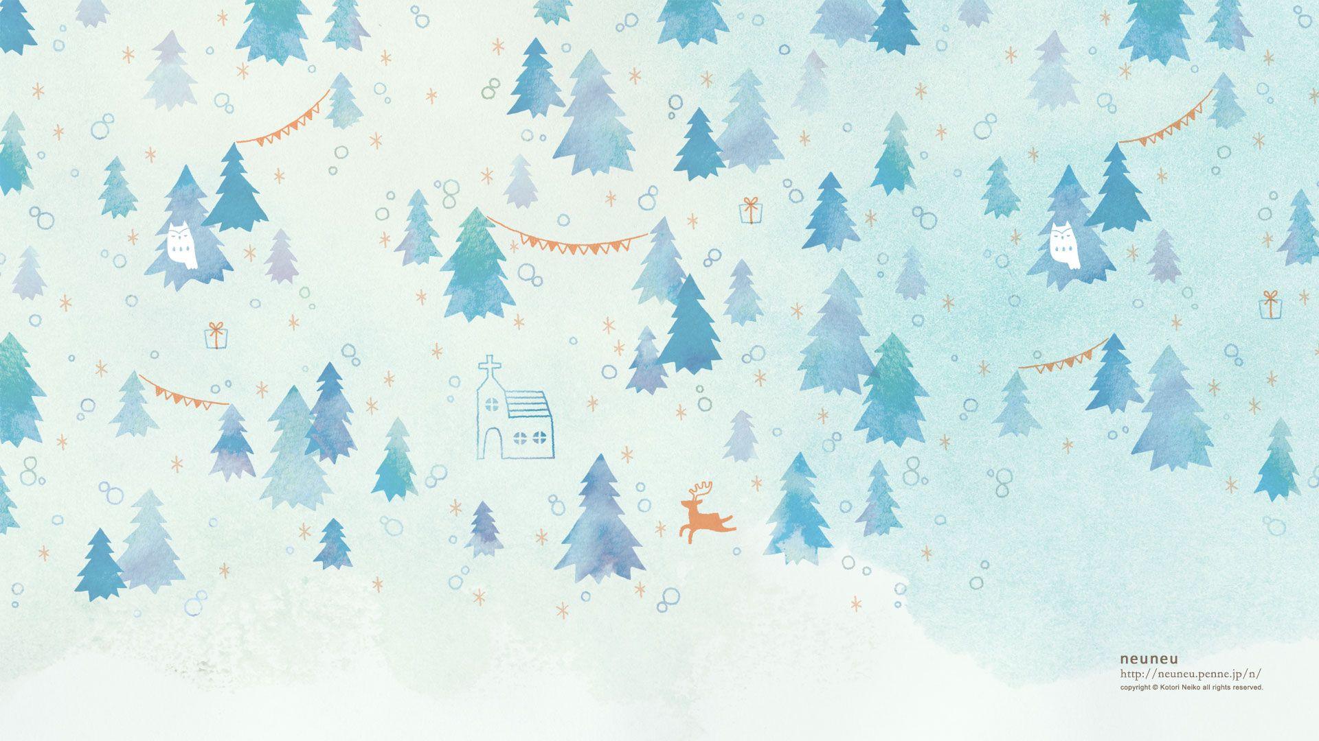 一番欲しい 冬 壁紙 Pc 木イラスト イラスト 冬 ポスター