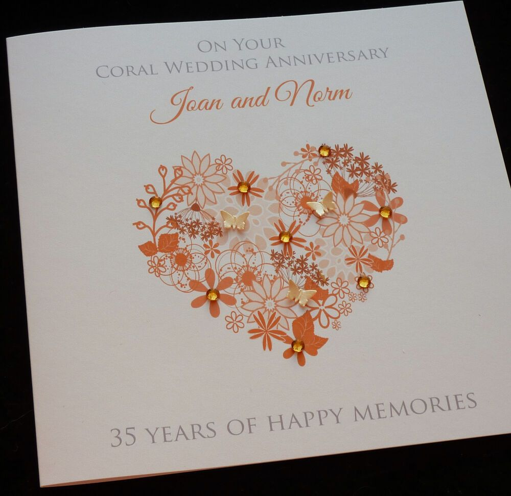 17 35th Wedding Anniversary Cards Uk Wedding Anniversary Cards 35th Wedding Anniversary 35th Wedding Anniversary Gift