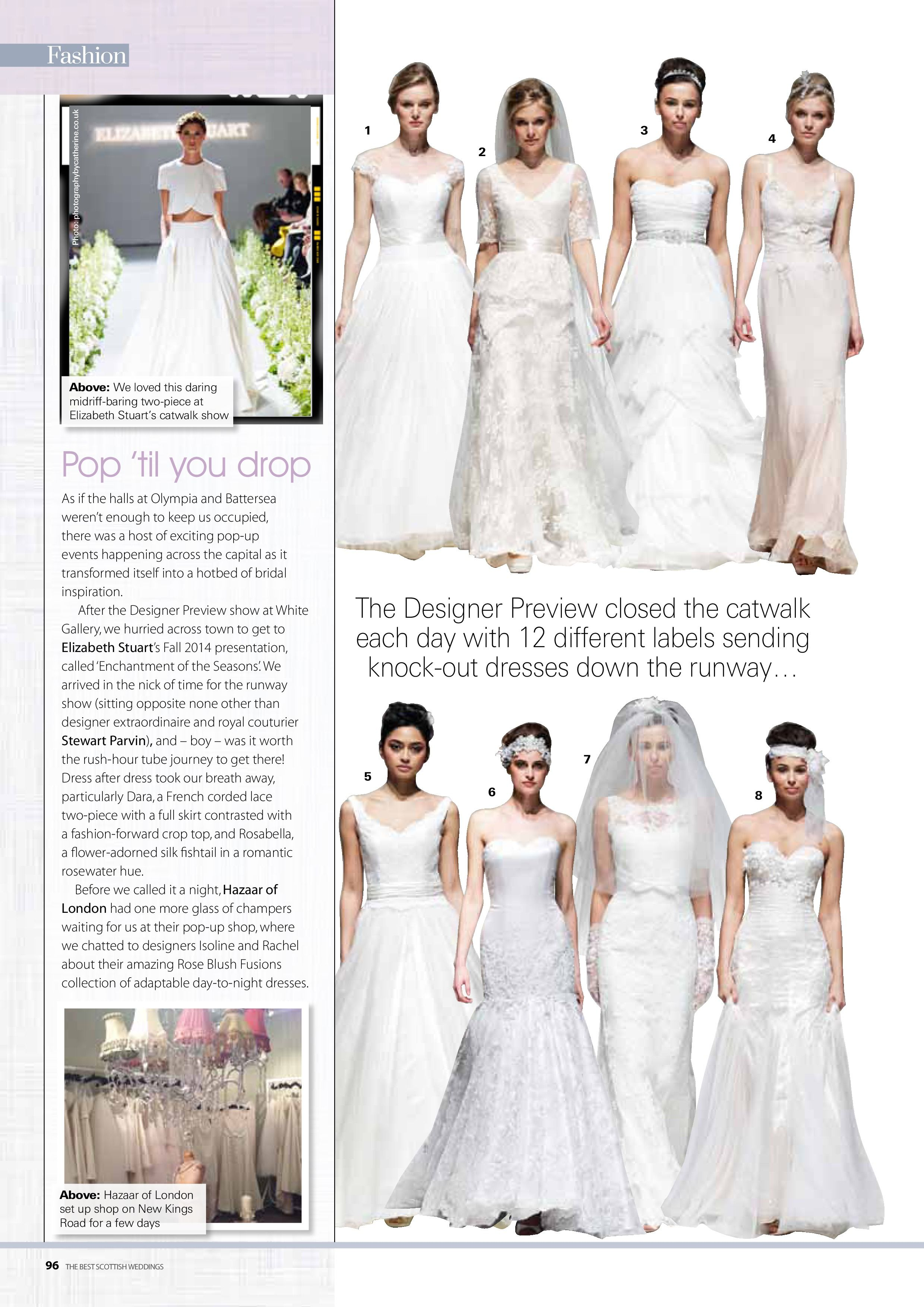 Elizabeth Stuart Moonflower Gown Best Scottish Weddings