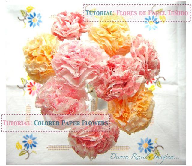 Decora recicla imagina cmo hacer flores de papel how to make cmo hacer flores de papel how to make paper flowers mightylinksfo