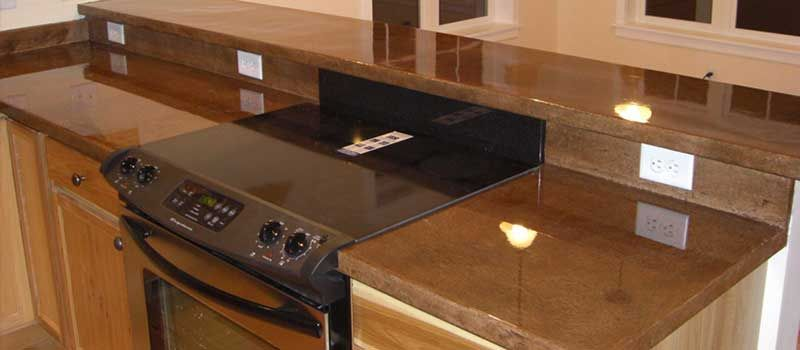 How To Use Epoxy Adhesive Concrete Countertops Kitchen