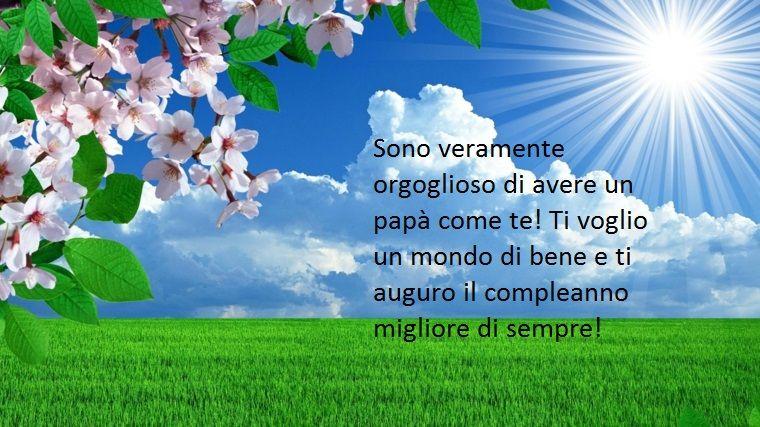 Tanti Auguri Di Buon Compleanno Al Proprio Papa Nel Giorno Del Suo Compleanno Buon Compleanno Compleanno Auguri Di Buon Compleanno