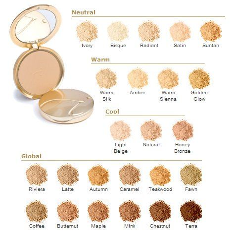 Jane Iredale Pure Pressed Base Foundation Colors Makeup In 2018