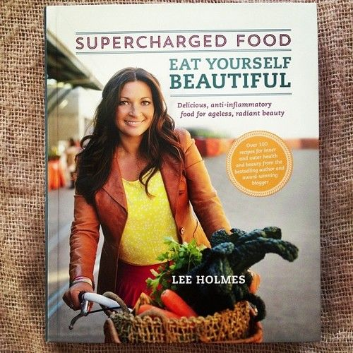 And no. 2 by the beautiful @Lee Supercharged #EatYourselfBeautiful Will be doing my meal plans using both of these books, sooooooo delish!!